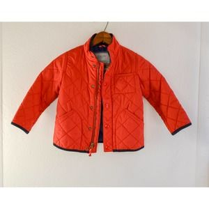 Crewcuts Red Quilted Jacket, Size 3
